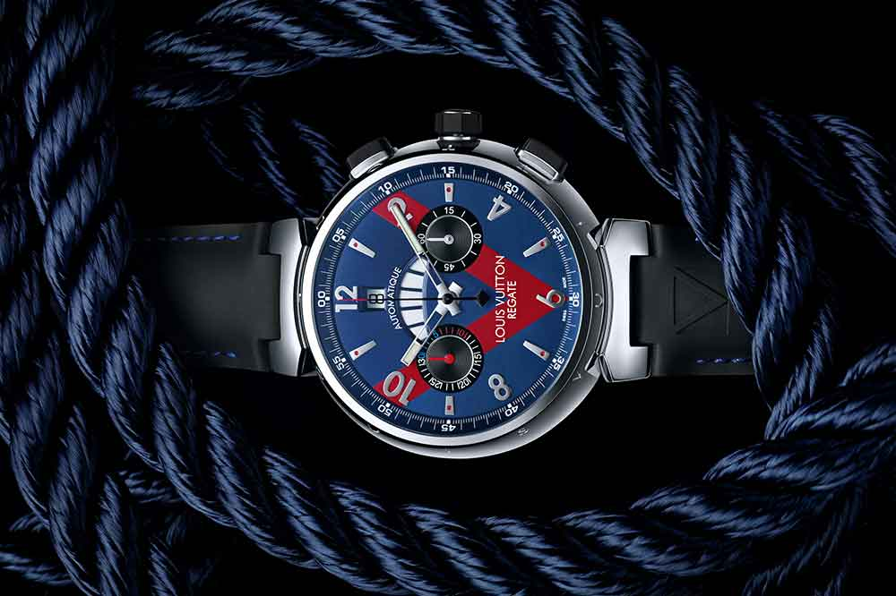 Louis Vuitton Tambour Regatta Navy 44