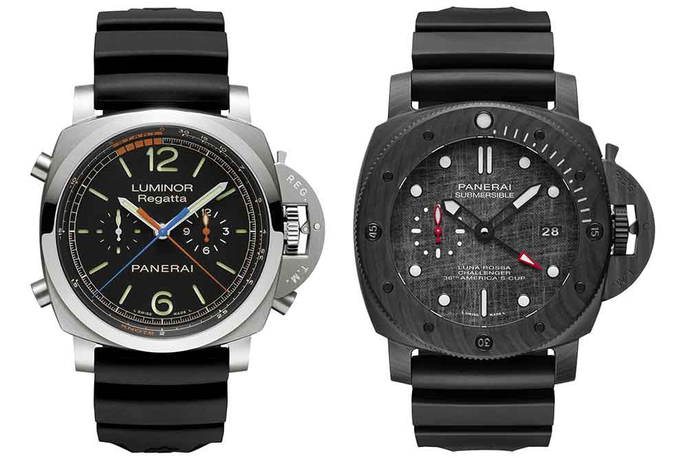 Panerai Luminor Regatta Chrono Flyback y Submersible Luna Rossa