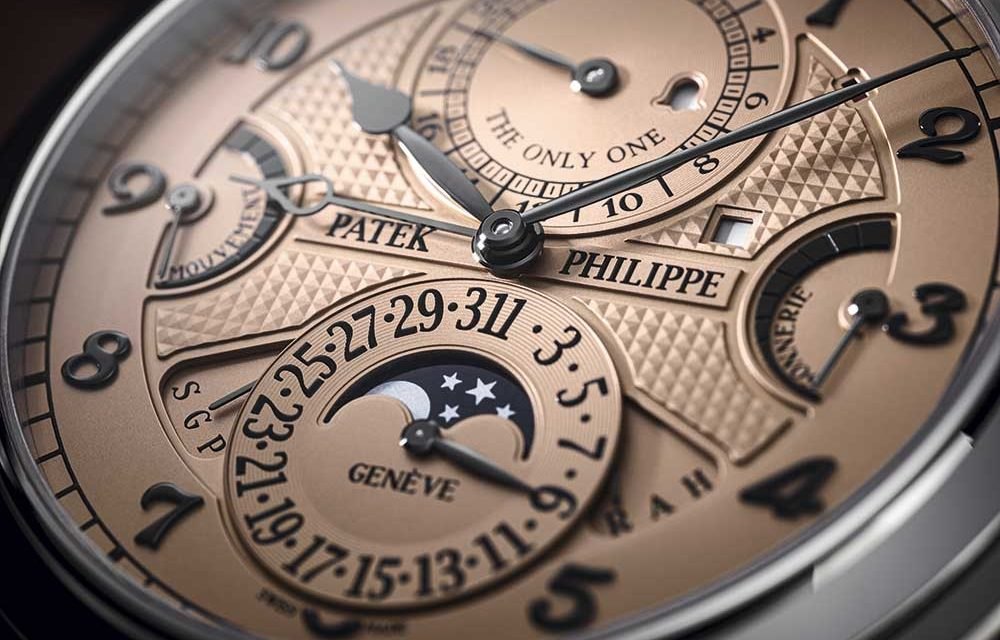ONLY WATCH 2019: Patek Philippe Grandmaster Chime, récord mundial