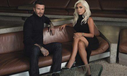 Tudor: cuando Lady Gaga conoció a Beckham