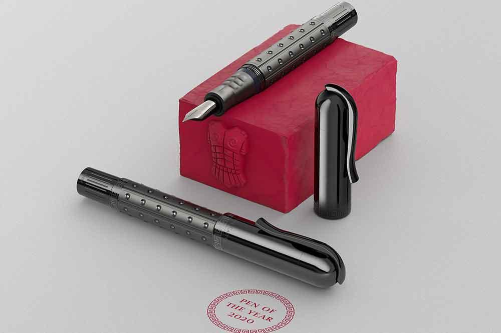 Graff von Faber Castell Sparta Black Edition, Pluma del año 2020