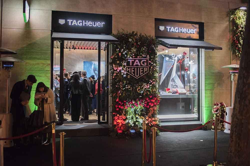 Boutique TAG Heuer Madrid, detalle fachada