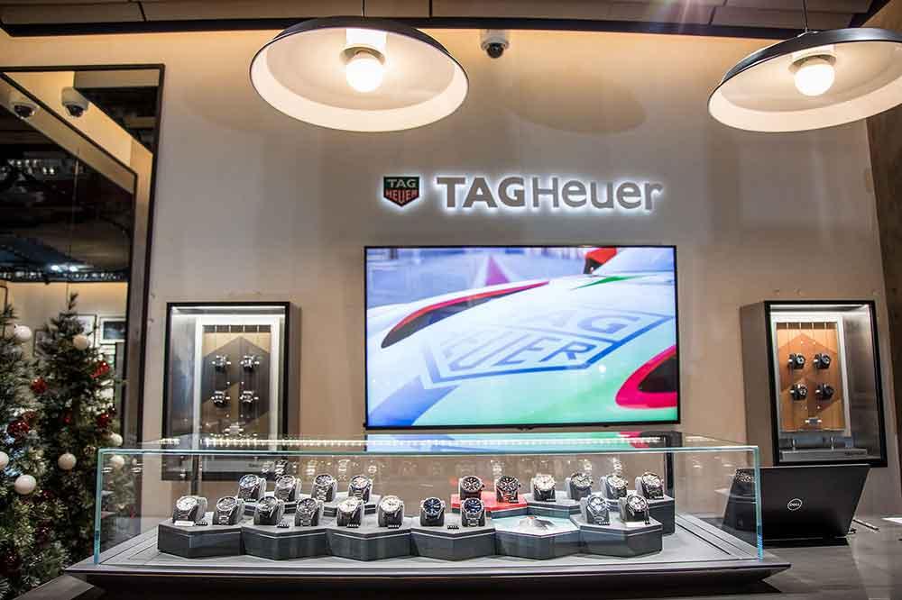 Boutique TAG Heuer Madrid, selección relojes