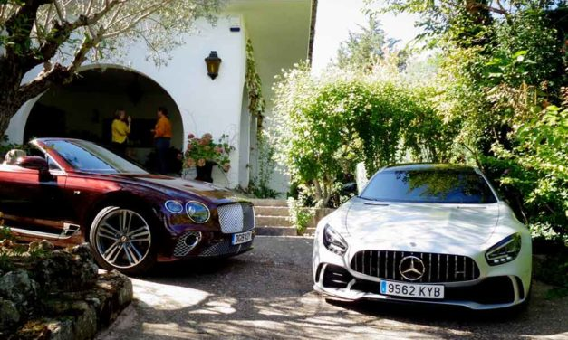 Bentley Continental GTC V8 & Mercedes AMG GT R