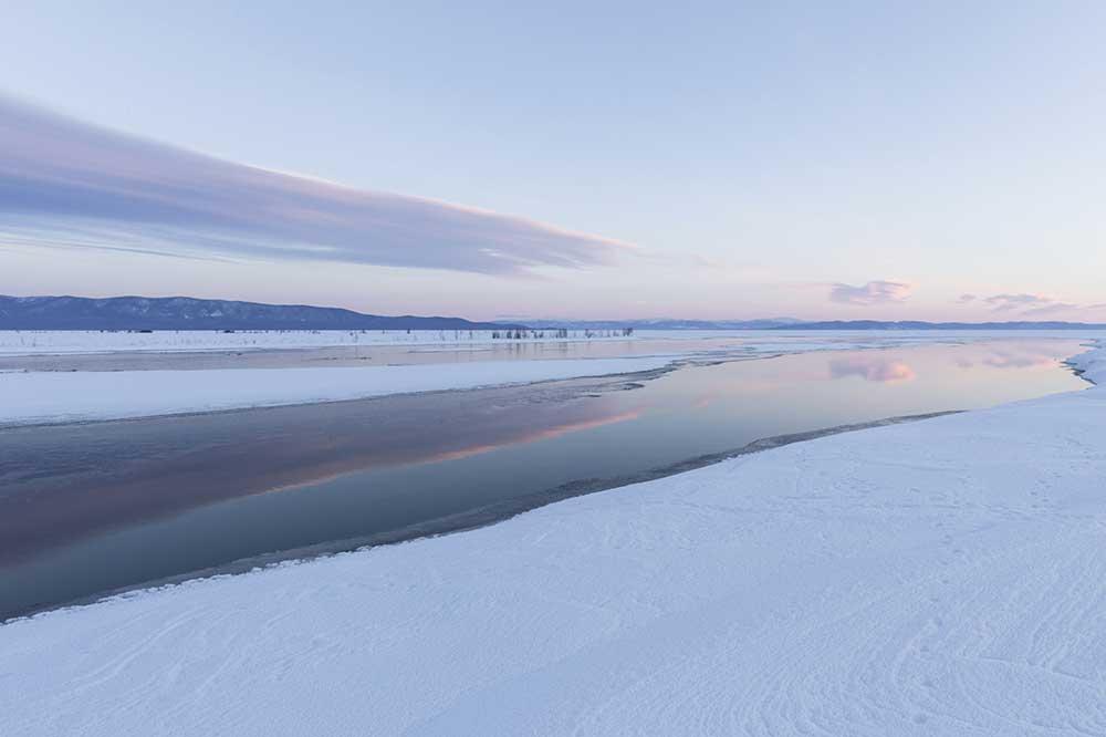 Lake Baikal, vista central