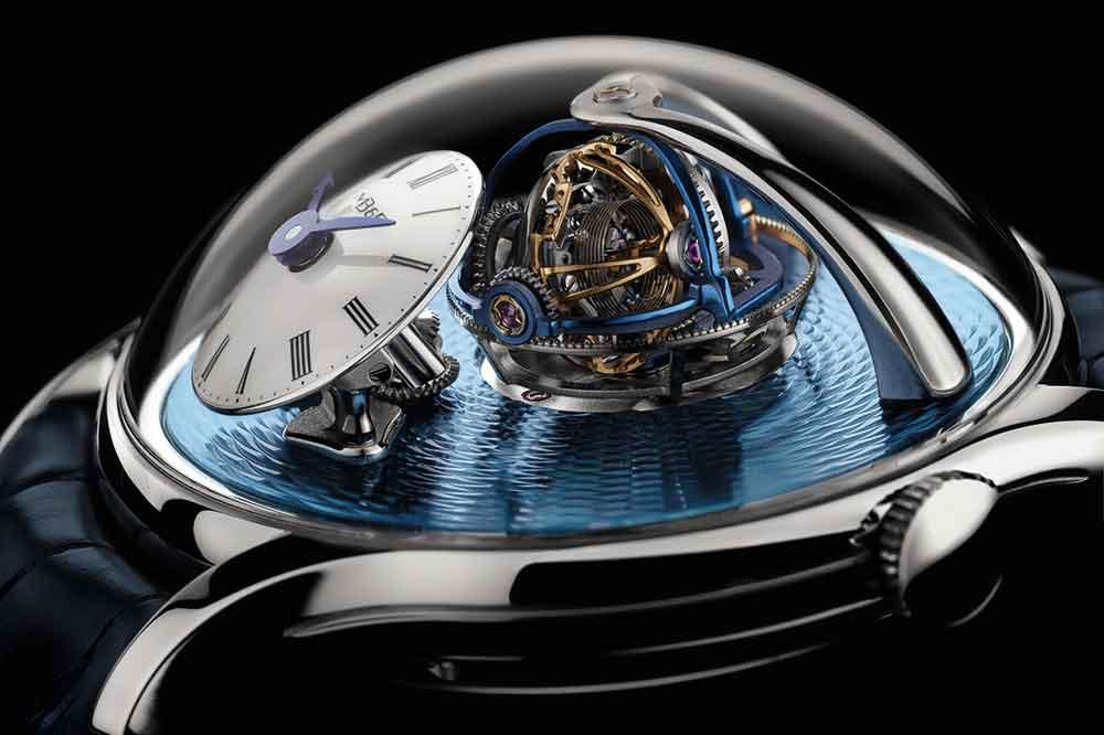 MB&F Legacy Machine Thunderdome, detalle esfera