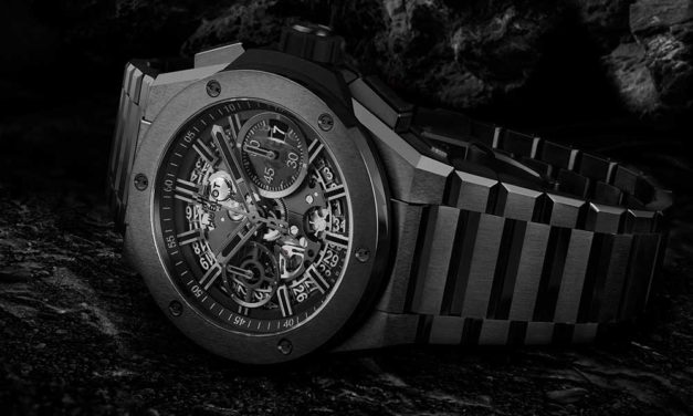 Total look integrado: Hublot Big Bang Integral