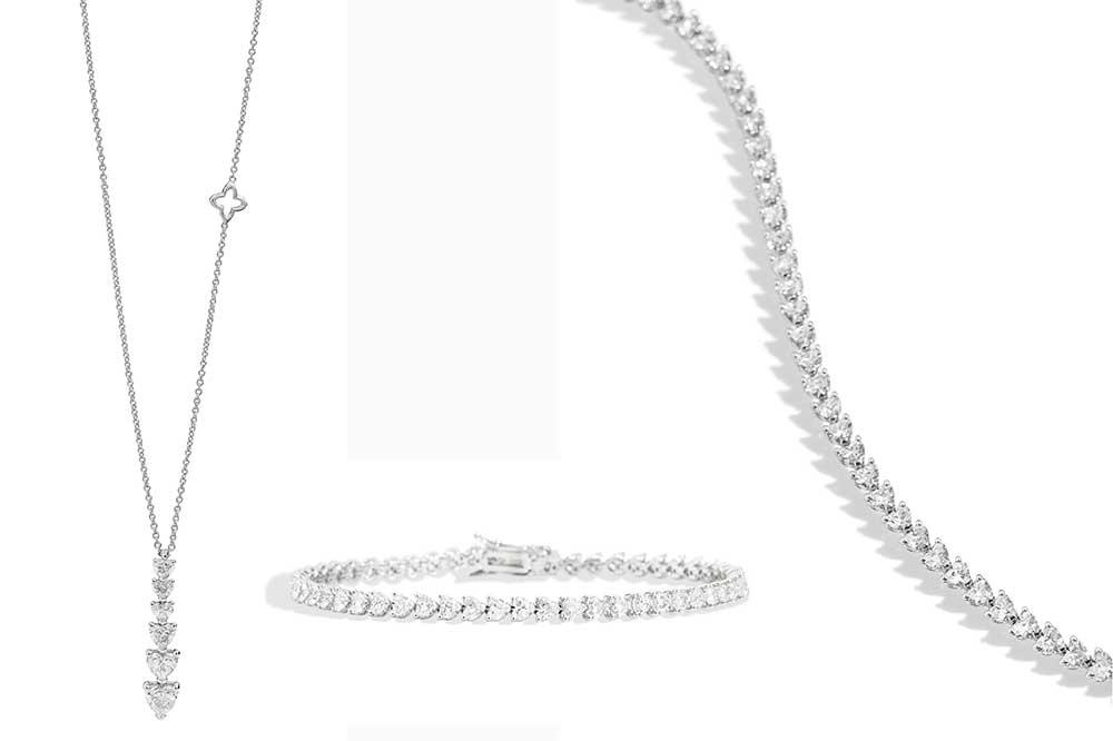 Recarlo colección de joyas Anniversary Love, collares y pulsera