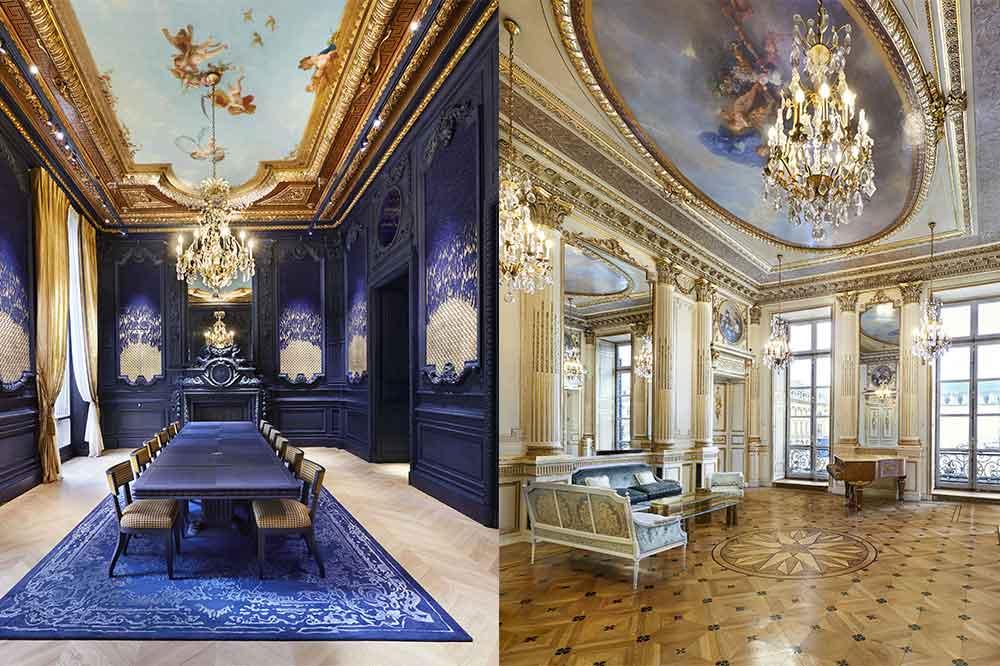 Chaumet Place Vendôme, Grandes Salones