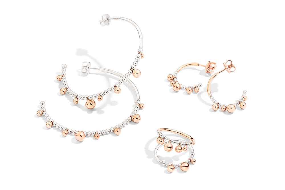 DoDo Bollicine, pendientes y anillos