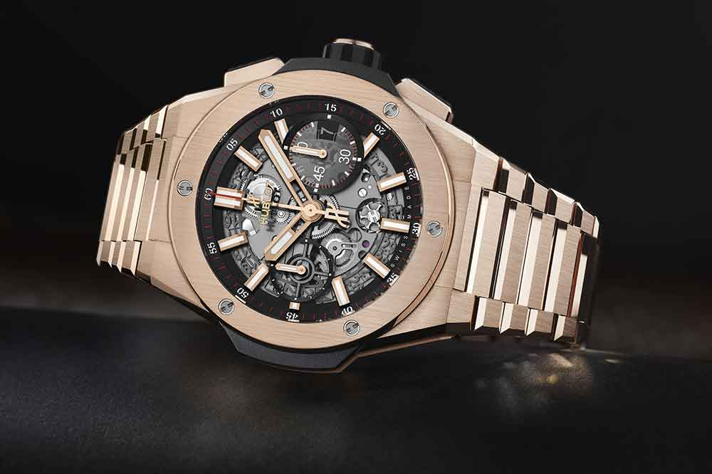 Hublot Big Bang Integral King Gold