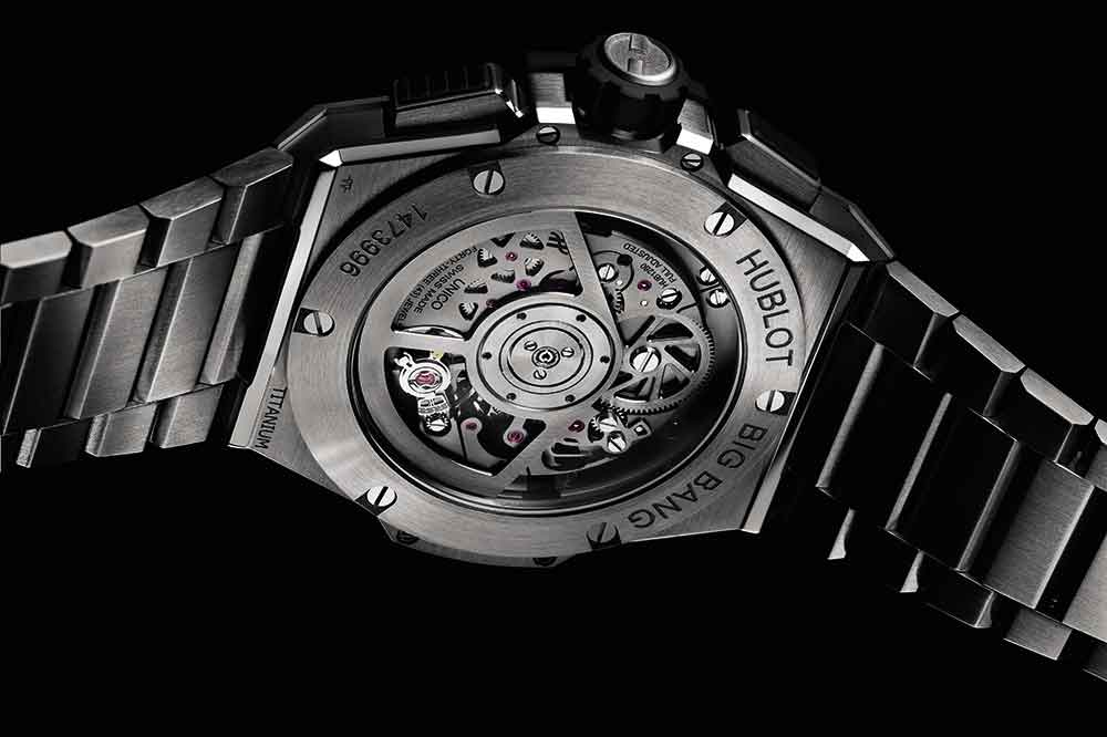 Hublot Big Bang Integral, vista trasera