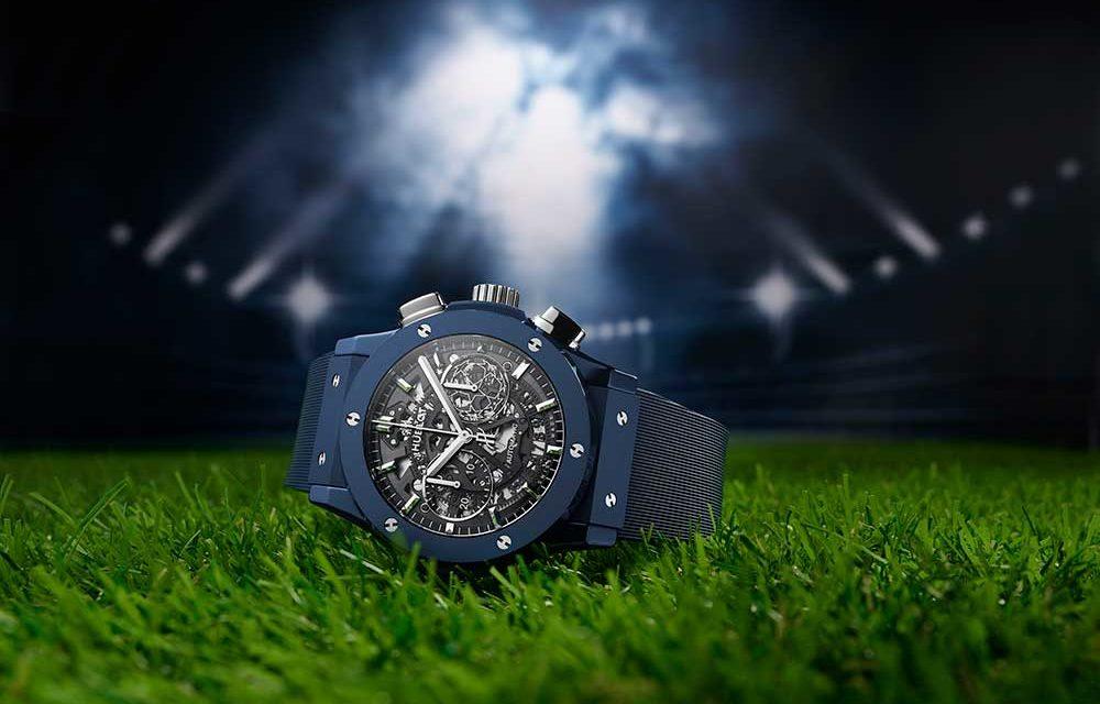 Hublot lanza un nuevo cronógrafo con motivo de la vuelta de la UEFA Champions League