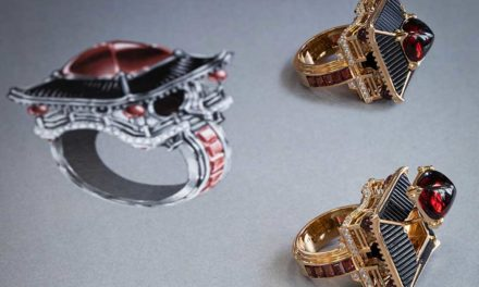 Chaumet Trésors d'Ailleurs, anillos arquitectónicos