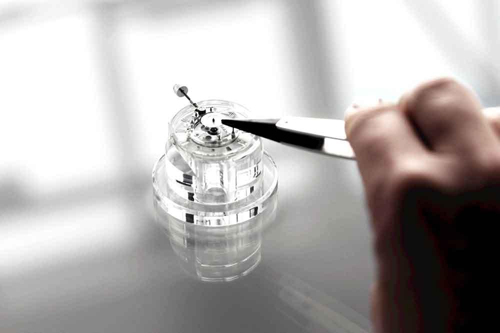 Chanel calibre manufactura 3.1, montaje