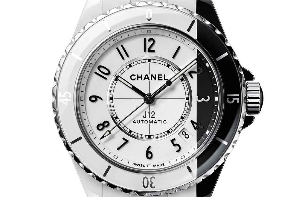 Chanel J12 Paradoxe, detalle esfera
