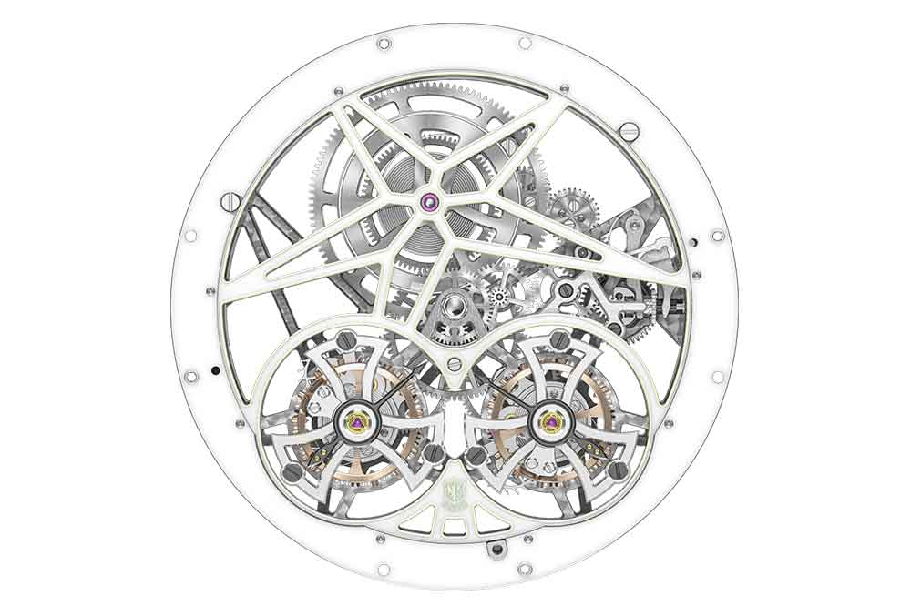 Roger Dubuis Excalibur Twofold, calibre RD01SQ