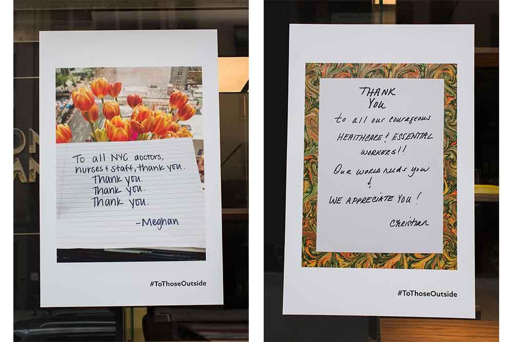 Montblanc, campaña #ToThoseOutside, varios mensajes