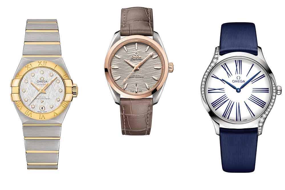 Omega, relojes femeninos actuales