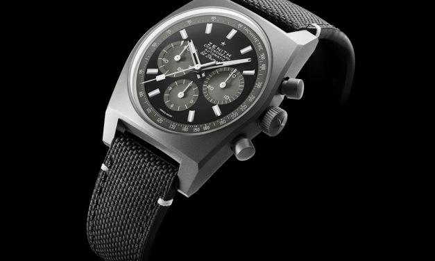 Zenith Chronomaster Shadow, un reloj envuelto en misterio