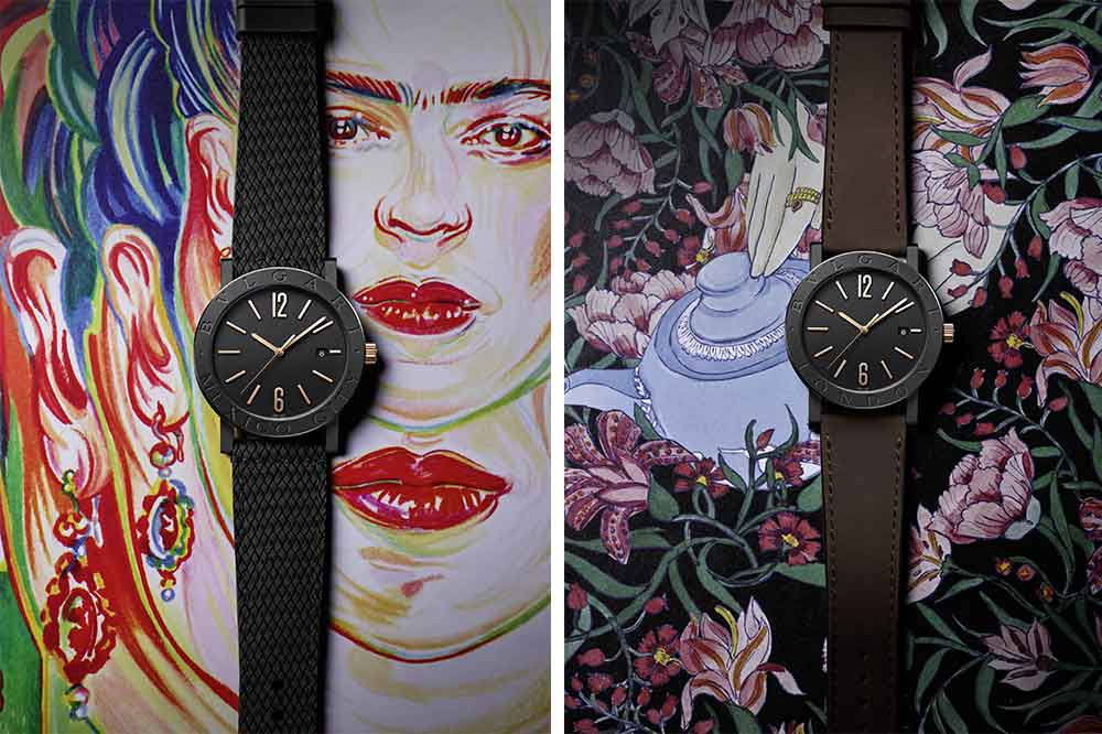 Bvlgari Bvlgari Cities 2020, reloj Ciudad de México y reloj Londres