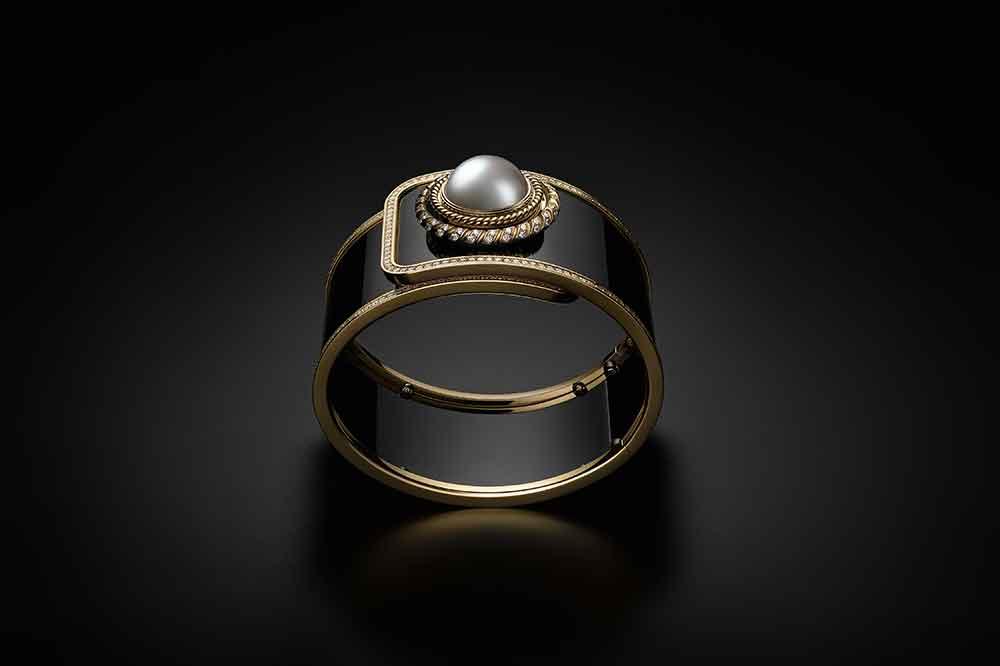 Chanel Mademoiselle Privé Ganse de Diamant