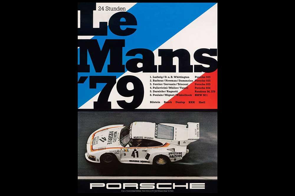 Póster Le Mans 1979