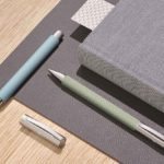 Faber-Castell Ambition OpArt, verde menta o azul cielo