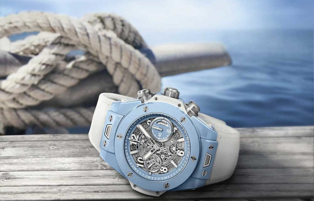 Hublot Big Bang Unico Sky Blue, entre el cielo y el mar