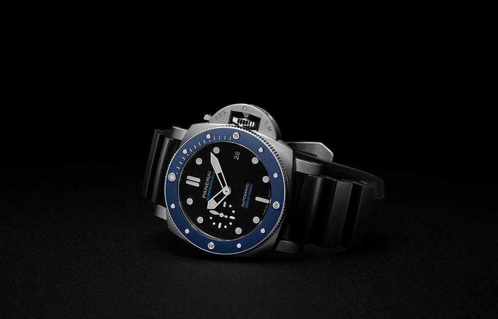 Panerai Submersible Azzurro, inmersión EN AGUAS PROFUNDAS