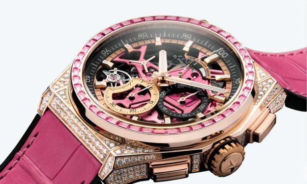 Zenith DEFY 21 Pink Edition, rosa por el verano y por la esperanza