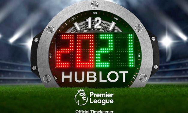 HUBLOT sera el cronometrador oficial de la Premier League