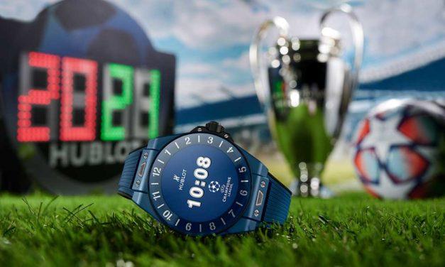 Hublot presenta el reloj conectado de la UEFA Champions League