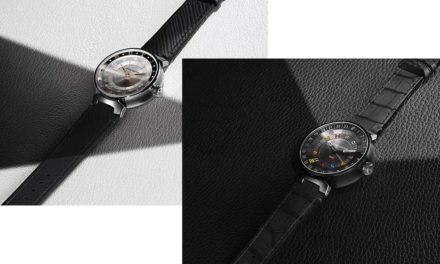 Louis Vuitton Tambour Moon Dual Time