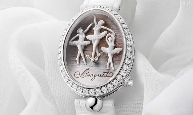 Breguet, Una reina de Nápoles en el Ballet Ruso