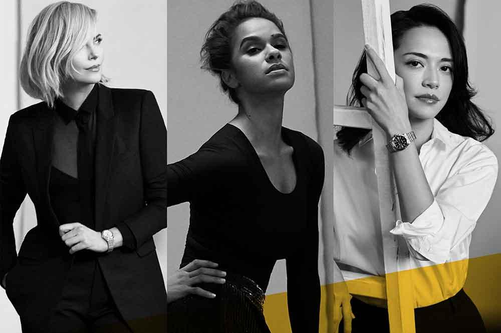 Spotlight Squad de Breitling: Charlize Theron, Misty Copeland y Yao Chen