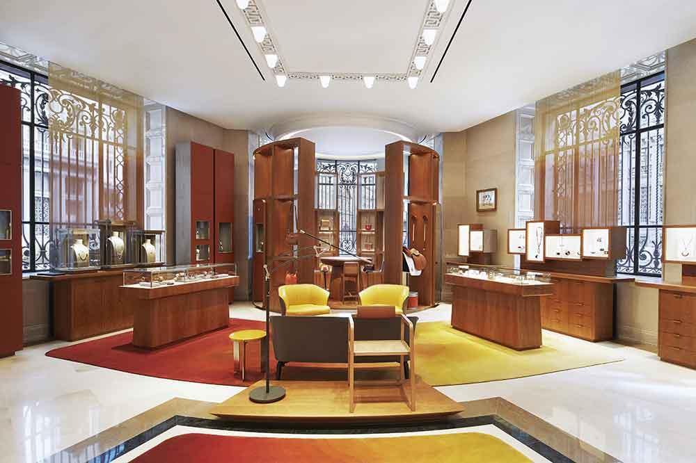Tienda Hermès en Galería Canalejas, salón central