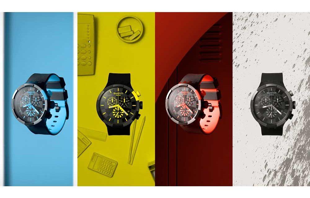Swatch llega con su nuevo modelo Big Bold Chrono