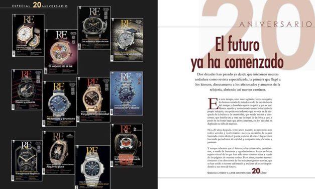 La revista R&E – Relojes & Estilo ha cumplido 20 años
