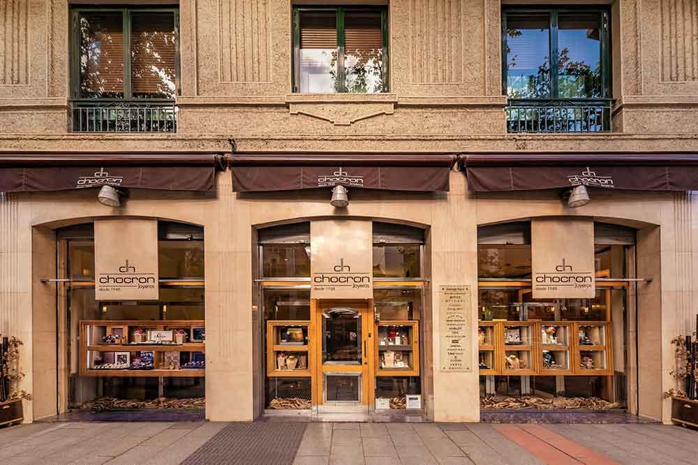 Boutique Chocrón Joyeros en Madrid