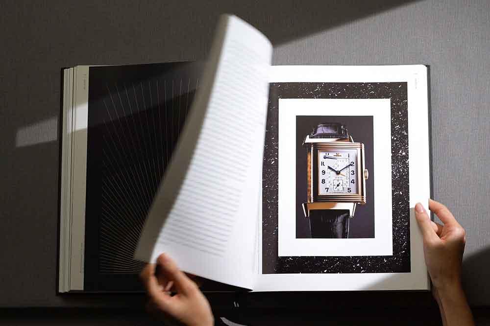 Jaeger-LeCoultre Libro Reverso, detalle interior