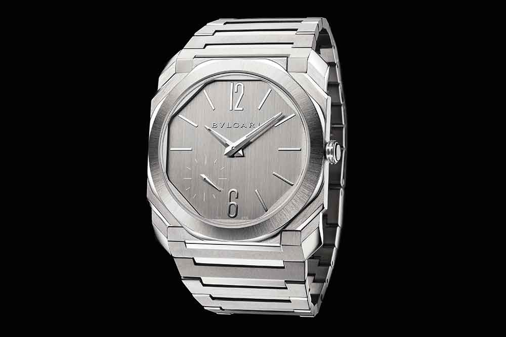Bvlgari Octo Finissimo S Steel Silvered Dial Referencia 103464