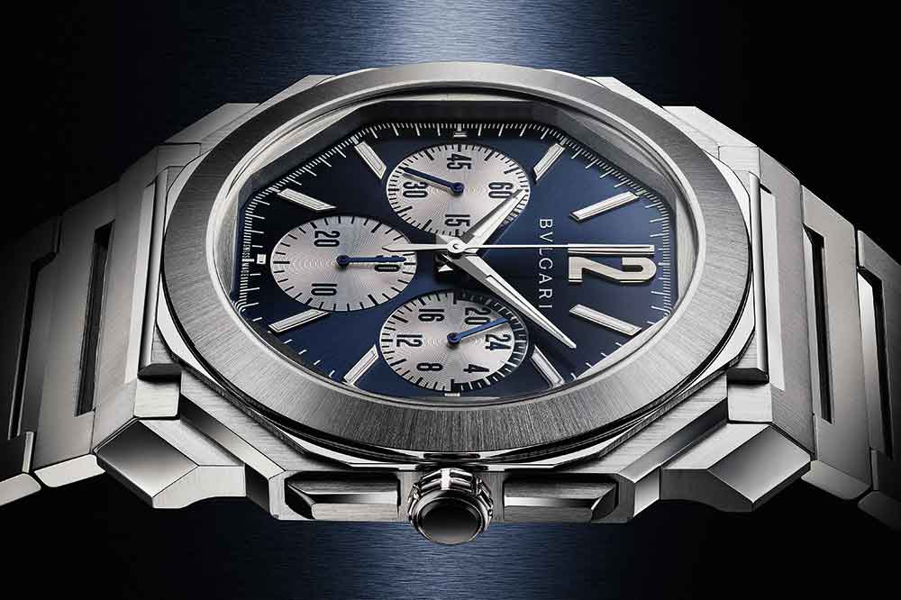 Bvlgari Octo Finissimo S Chronograph GMT Steel Referencia 103467