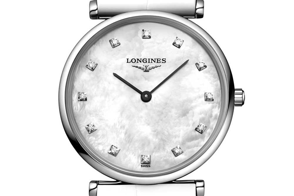 La Grande Classique de Longines, detalle esfera