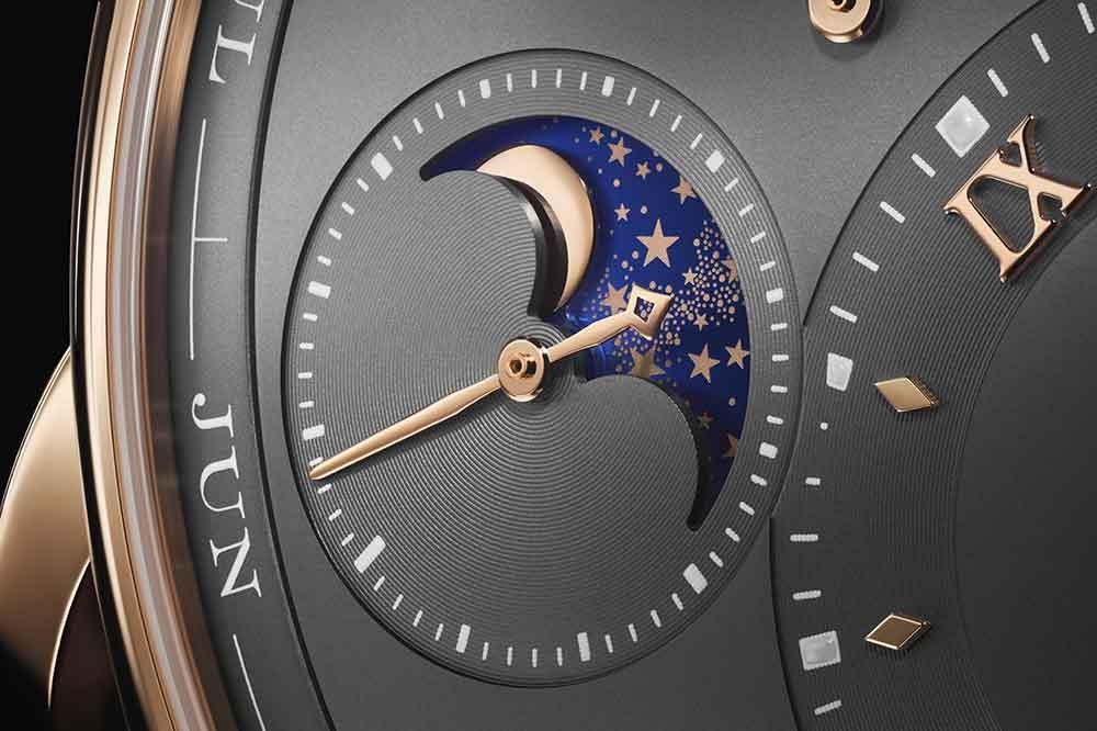 A.Lange & Söhne Lange 1 Calendario Perpetuo, detalle fase lunar