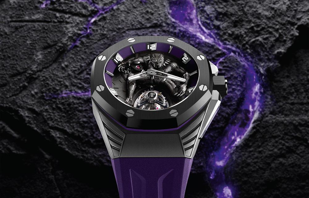 """Audemars Piguet Royal Oak """"Black Panther"""", el reloj más heroico"""