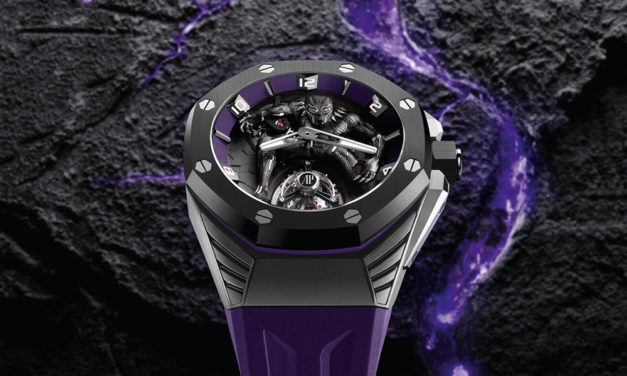 "Audemars Piguet Royal Oak ""Black Panther"", el reloj más heroico"