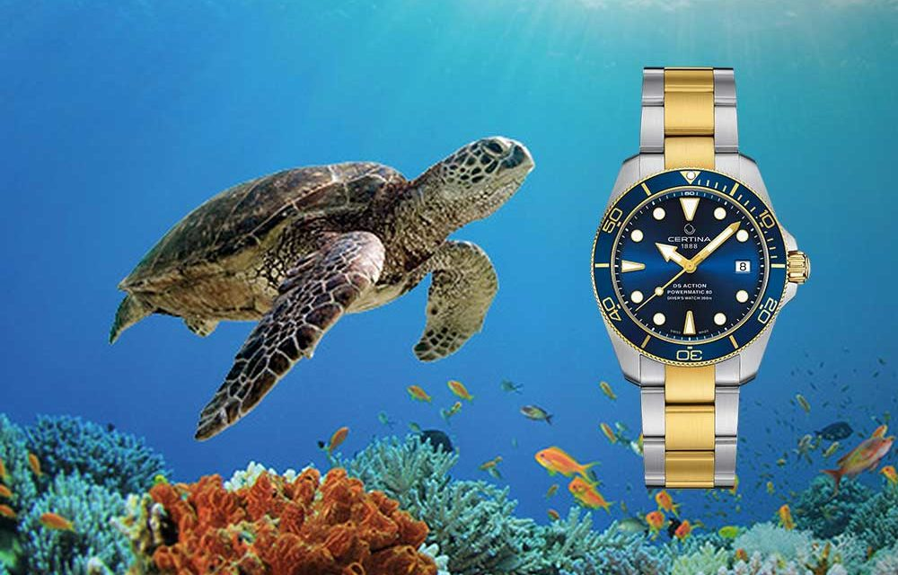 Certina DS Action Diver Sea Turtle Conservancy. Compromiso con las tortugas marinas