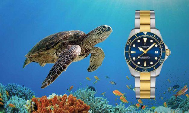 Certina DS Action Diver Sea Turtle Conservancy. Compromiso con las tortugas marinas