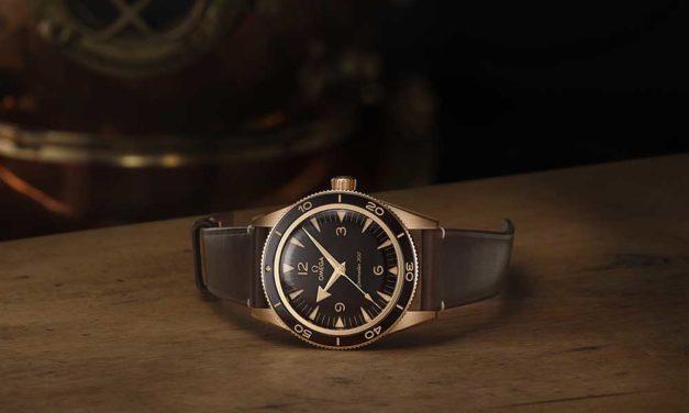 Omega Seamaster 300 Bronze Gold, pasión por los materiales